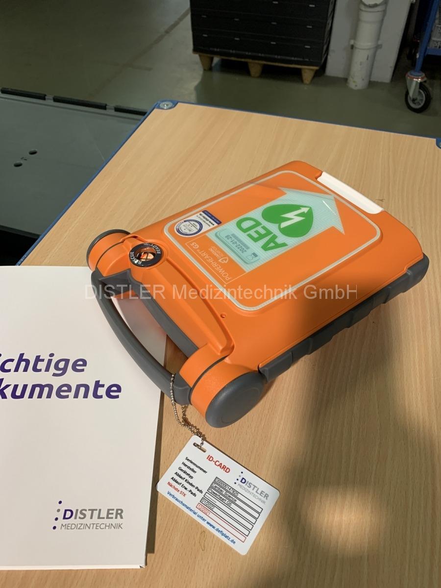 STK Powerheart AED