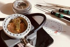 Kalibrierung eines aneroiden RR Gerätes von boso