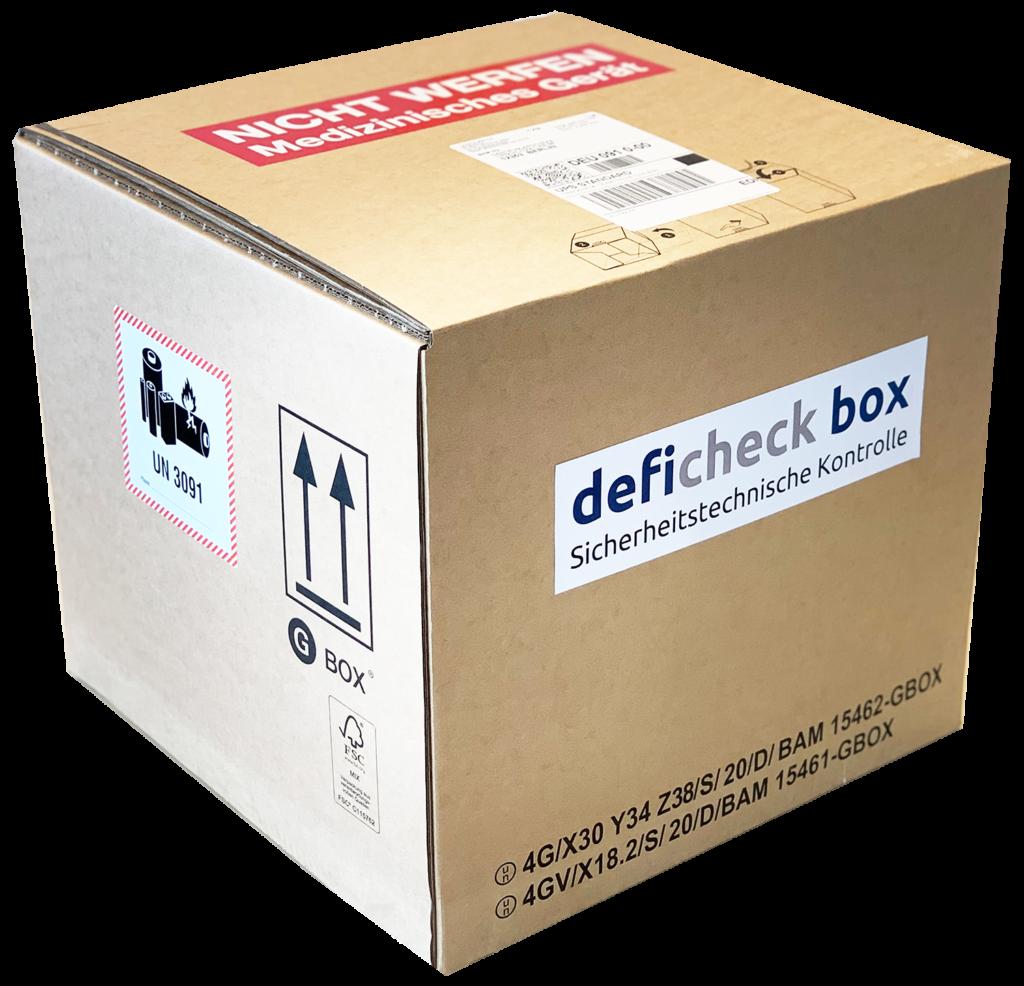 deficheck box AED STK